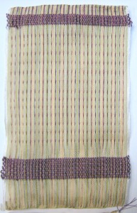 First Woven Page