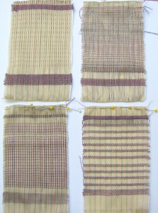 Four Woven Pages
