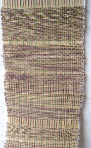 Weaving with Marl Yarns C