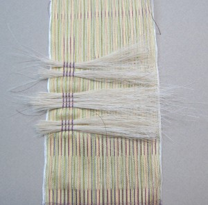 horsehair weaving