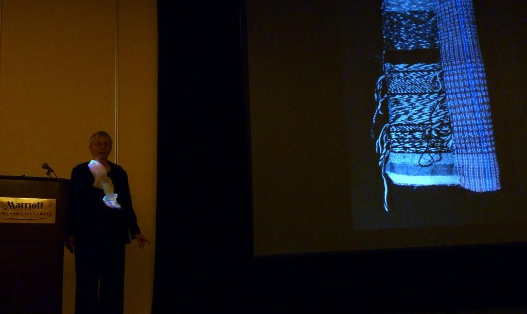 Peggy Osterkamp's Fiber Optics Surprise