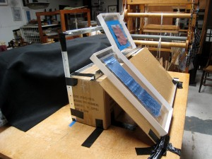 Easel for My Weavings