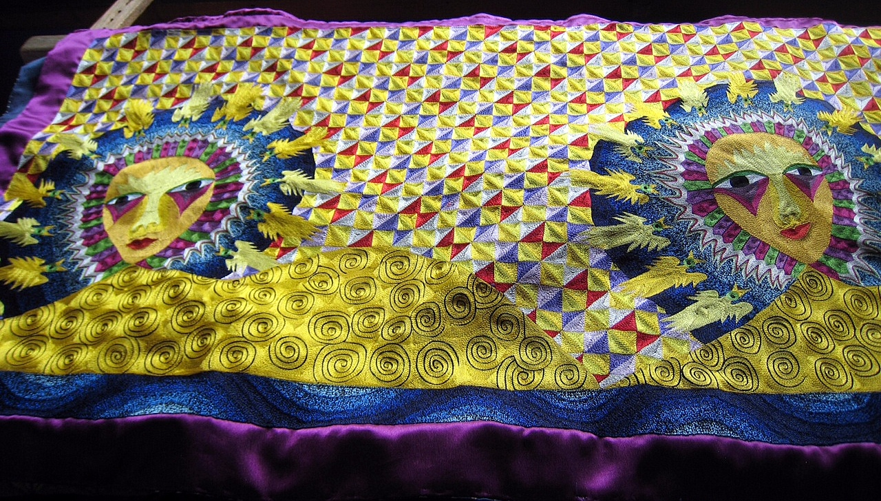 Contemporary Embroidery Artist Beautiful Work Original Design