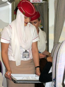 01.2 Emirates stewardess
