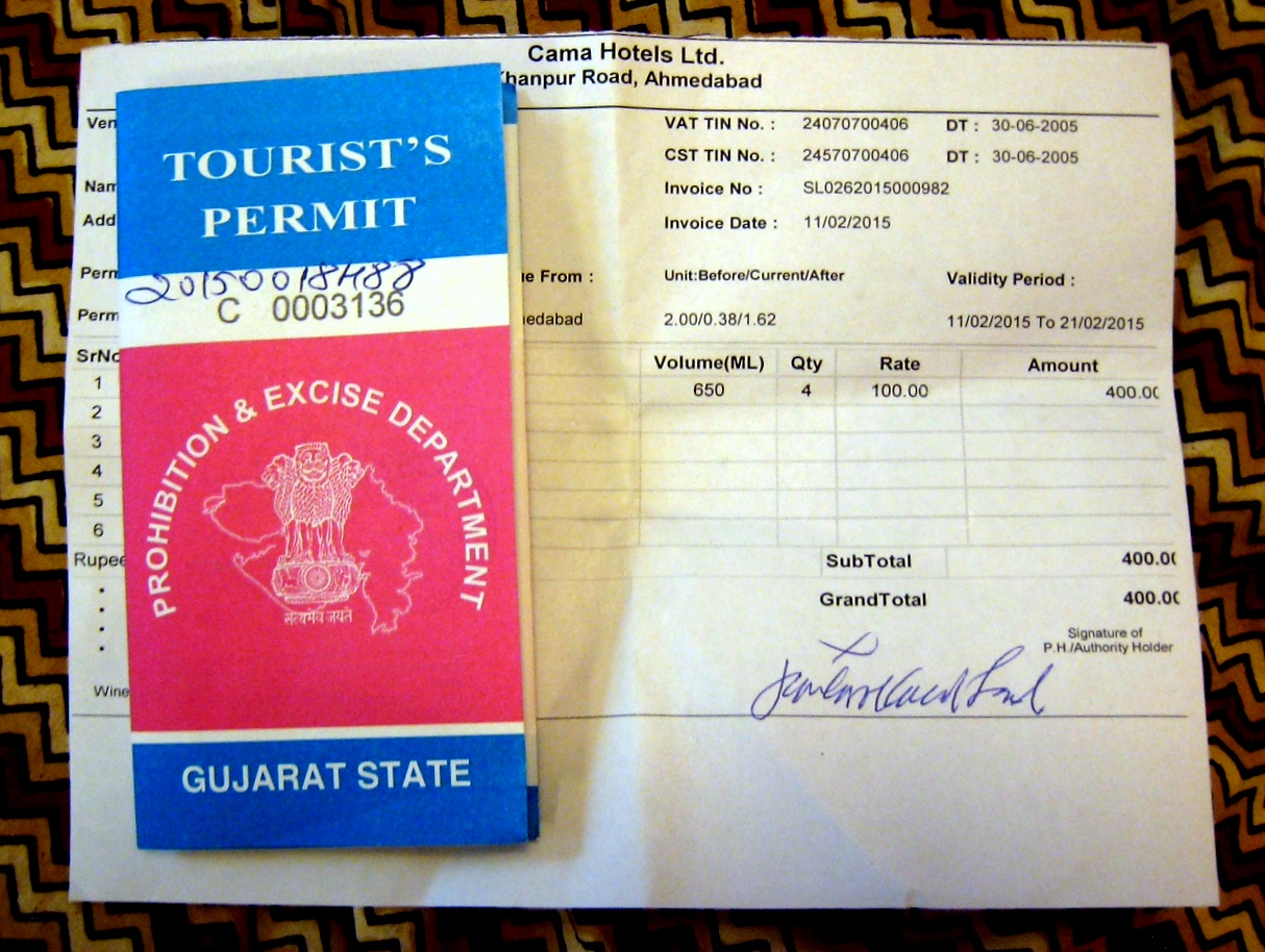liquor license in india Imporant note 1 resident of gujarat who are having the green card entitle to apply visitor permit 2 proof related to greencard needs to be submitted and verified while visiting liquor shop.