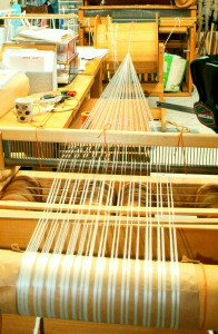 Drum - Raddle on Loom