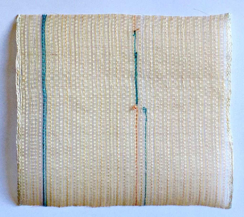 Silk Off Loom