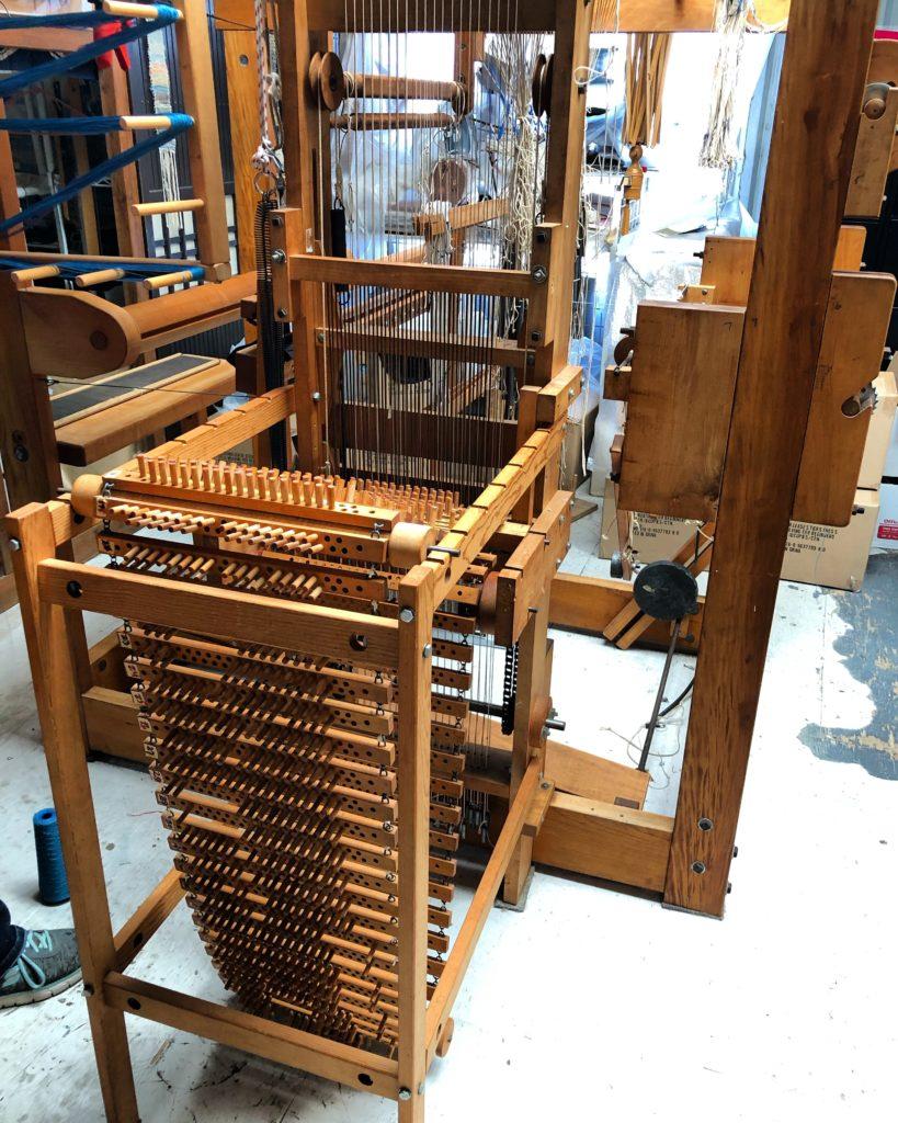 Rigid Heddle Frame for 2 Segments Hard Maple 6 34 Wide